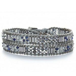 Trendy Handmade 2 Wrap Bracelet Choker NEW